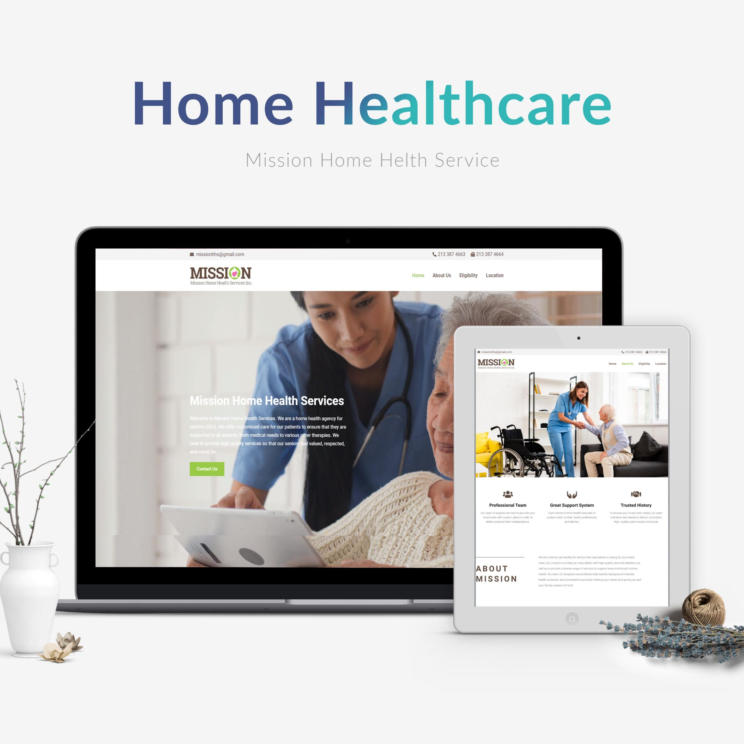 mission-home-care-wordpress-website-wadm-wearedigitalmarketer-위아디지털마케터